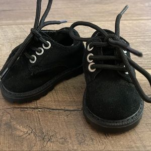 Gymboree Baby Boy Black Shoes Size 0-1